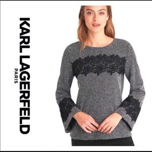 NWOT Karl Lagerfeld sweater size large